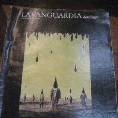 Coleccionismo Periódico La Vanguardia: SUPLEMENTO DOMINGO PERIODICO LA VANGUARDIA . 1985 . DE LA PESTE AL SIDA. Lote 241314185