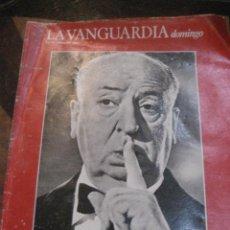 Coleccionismo Periódico La Vanguardia: SUPLEMENTO DOMINGO PERIODICO LA VANGUARDIA . 1984 . HITCHCOCK .. MERCEDES SALISACHS. Lote 241431160