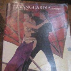 Coleccionismo Periódico La Vanguardia: SUPLEMENTO DOMINGO PERIODICO LA VANGUARDIA 1983 TRAS ET LLEGA EL JEDI . MIGUEL RIOS . LOLA HERRERA. Lote 241431540
