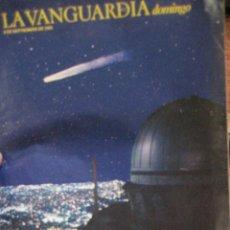 Coleccionismo Periódico La Vanguardia: SUPLEMENTO DOMINGO PERIODICO LA VANGUARDIA . 1983 EL RETORNO COMETA HALLEY . GITANOS DE GRACIA. Lote 241431950