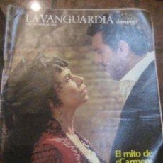 Coleccionismo Periódico La Vanguardia: SUPLEMENTO DOMINGO PERIODICO LA VANGUARDIA . 1983 MITO DE CARMEN PLACIDO DOMINGO. Lote 241433475