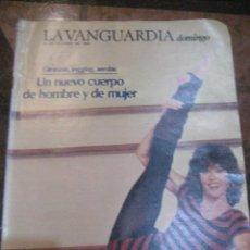 Coleccionismo Periódico La Vanguardia: SUPLEMENTO DOMINGO PERIODICO LA VANGUARDIA . 1983 GIMNASI JOGGING AEROBIC . MARINA ROSSELL. Lote 241433840