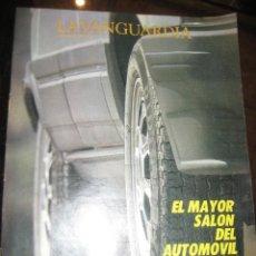 Coleccionismo Periódico La Vanguardia: SUPLEMENTO DOMINGO PERIODICO LA VANGUARDIA . 1985 . SALON DEL AUTOMOVIL BARCELONA. Lote 241435655