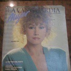Coleccionismo Periódico La Vanguardia: SUPLEMENTO DOMINGO PERIODICO LA VANGUARDIA . 1984 . VICTORIA VERA . EUSEBIO PONCELA. Lote 241436305