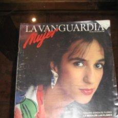 Coleccionismo Periódico La Vanguardia: SUPLEMENTO DOMINGO PERIODICO LA VANGUARDIA . 1985 ROSARIO FLORES . LA HEROINA . ANGEL CASAS. Lote 241437235