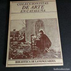 Coleccionismo Periódico La Vanguardia: COLECCIONISTAS DE ARTE EN CATALUÑA BIBLIOTECA DE LA VANGUARDIA MARÍA LÜISA BORRÀS. Lote 241636365