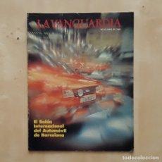 Coleccionismo Periódico La Vanguardia: LA VANGUARDIA - SALÓN INTERNACIONAL DEL AUTOMÓVIL DE BARCELONA 1983. Lote 242192665