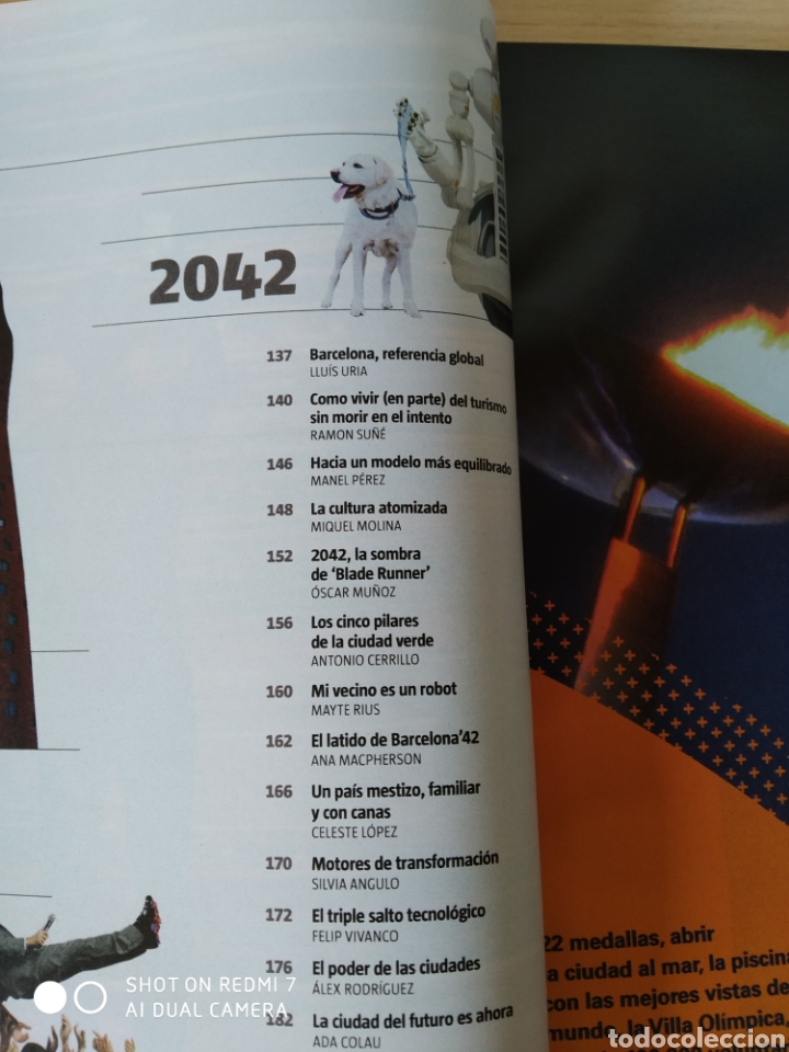 Coleccionismo Periódico La Vanguardia: 1992-2042. Barcelona, la ciudad del futuro. Nuevo - Foto 6 - 244638425