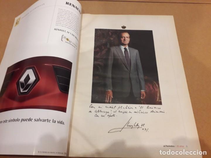 Coleccionismo Periódico La Vanguardia: 25 Años Con Los Lectores (El Periódico) - Foto 2 - 260365700