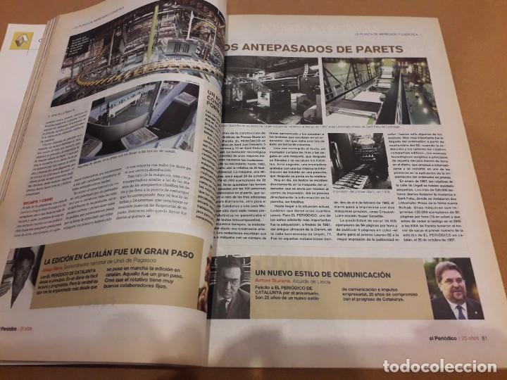 Coleccionismo Periódico La Vanguardia: 25 Años Con Los Lectores (El Periódico) - Foto 3 - 260365700