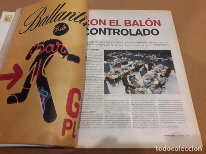 Coleccionismo Periódico La Vanguardia: 25 Años Con Los Lectores (El Periódico) - Foto 4 - 260365700