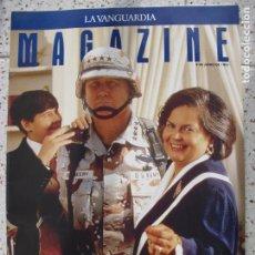 Coleccionismo Periódico La Vanguardia: MAGAZINE DE LA VANGUARDIA. Lote 261332490