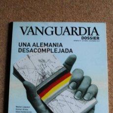 Coleccionismo Periódico La Vanguardia: REVISTA VANGUARDIA DOSSIER Nº 37. OCTUBRE / DICIEMBRE 2010. UNA ALEMANIA DESACOMPLEJADA. Lote 265747359