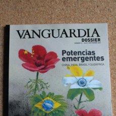 Coleccionismo Periódico La Vanguardia: REVISTA VANGUARDIA DOSSIER Nº 12. JULIO / SEPTIEMBRE 2004. POTENCIA EMERGENTES CHINA, INDIA, BRASIL. Lote 265749059