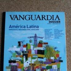 Coleccionismo Periódico La Vanguardia: REVISTA VANGUARDIA DOSSIER Nº 4. ENERO / MARZO 2003. AMERICA LATINA DEMOCRACIA, NEOLIBERALISMO. Lote 265750004
