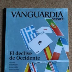 Coleccionismo Periódico La Vanguardia: REVISTA VANGUARDIA DOSSIER Nº 42. ENERO/MARZO 2012. EL DECLIVE DE OCCIDENTE. Lote 265753704