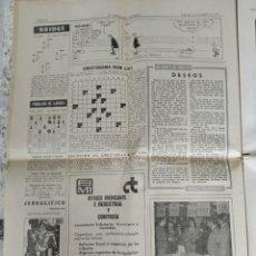 """Coleccionismo Periódico La Vanguardia: 1975 SÁBADO 25 DE ENERO """"LA VANGUARDIA ESPAÑOLA"""" DE PÁG.45 A 76 """"50 ANIVERSARIO ESCUELA BLANQUERNA"""". Lote 265782999"""