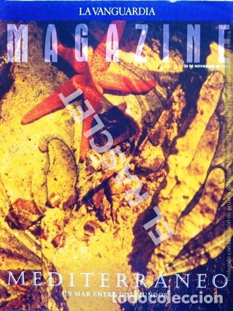ANTIGUO MAGAZINE - LA VANGUARDIA - NOVIEMBRE 1995 (Coleccionismo - Revistas y Periódicos Modernos (a partir de 1.940) - Periódico La Vanguardia)