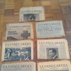"""Coleccionismo Periódico La Vanguardia: LOTE DE 7 EJEMPLARES DE """"LA VANGUARDIA"""". Lote 274849098"""