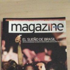 Coleccionismo Periódico La Vanguardia: MAGAZINE LA VANGUARDIA (2002) EL SUÑO DE BRASIL. Lote 279512143