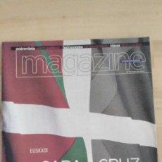 Coleccionismo Periódico La Vanguardia: MAGAZINE LA VANGUARDIA (2001) EUSKADI, CARA Y CRUZ. Lote 279512243