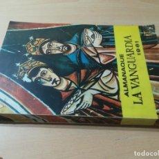 Coleccionismo Periódico La Vanguardia: ALMANAQUE LA VANGUARDIA 1961. Lote 284393488