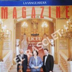 Coleccionismo Periódico La Vanguardia: ANTIGUO MAGAZINE - LA VANGUARDIA - MARZO 1994. Lote 287656298