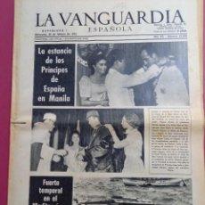 Coleccionismo Periódico La Vanguardia: DIARIO LA VANGUARDIA 20 DE MARZO DE 1974. Lote 288136768