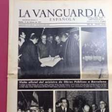 Coleccionismo Periódico La Vanguardia: DIARIO LA VANGUARDIA 12 DE FEBRERO DE 1974. Lote 288136923