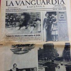 Coleccionismo Periódico La Vanguardia: DIARIO LA VANGUARDIA 14 DE MARZO DE 1974. Lote 288137058