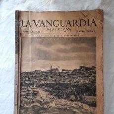 Coleccionismo Periódico La Vanguardia: LA VANGUARDIA DIARIO ENCUADERNADO, 1 DE ABRIL - 30 DE JUNIO 1936,. Lote 291777628