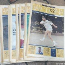 Coleccionismo Periódico La Vanguardia: 42 FASCÍCULOS, OLIMPIADAS BARCELONA 92, SUPLEMENTO DE LA VANGUARDIA. COLECCIÓN COMPLETA. Lote 295510633