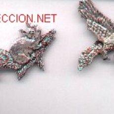 Pins de colección: 13-1162. 4 PINS EN RELIEVE. FAUNA. Lote 2747856