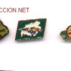 Pins de colección: 13-1340. PINS TURISMO. 4 DIFERENTES. Lote 2975927
