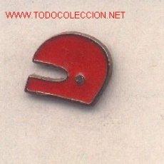 Pins de colección: 13-AUT8. PIN CASCO ROJO. Lote 396504