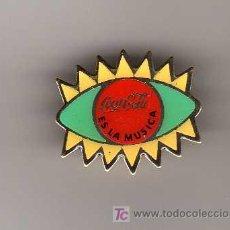 Pins de colección: PIN - COCA COLA ES LA MUSICA. Lote 6803767