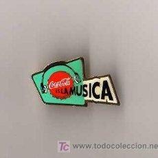 Pins de colección: PIN - COCA COLA ES LA MUSICA. Lote 6906276