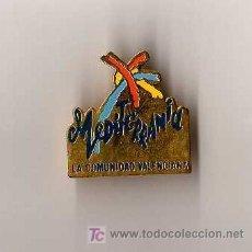 Pins de colección: PIN - MEDITERRANIA - LA COMUNIDAD VALENCIANA. Lote 6917685
