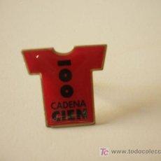 Pins de colección: PIN RADIO CADENA 100. Lote 8580740