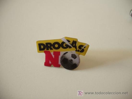 PIN DROGAS NO (Coleccionismo - Pins)