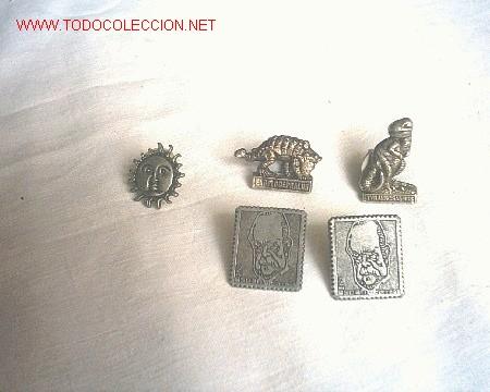 5 PINS (Coleccionismo - Pins)