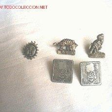 Pins de colección: 5 PINS. Lote 10644948