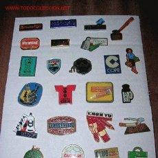 Pins de colección: INTERESANTE LOTE DE 24 PINS PUBLICITARIOS. Lote 20280076