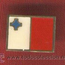 Pins de colección: LOTE DE 25 BANDERITAS TIPO PIN DE MALTA. Lote 10957598
