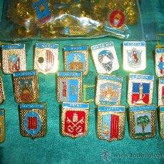 Pins de colección: COLECCION COMPLETA 53 PINS DIFERENTES AYUNTAMIENTOS DE LA ISLA DE MALLORCA(CONSULTEPOSIBILIDAD MAPA). Lote 89120892