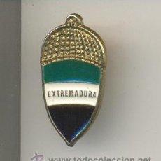 Pins de colección: 13-ESCU75. PIN BELLOTA EXTREMADURA. Lote 12603504