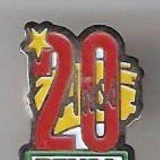Pins de colección: PIN - 20 AÑOS PRYCA. Lote 12938965
