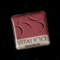 Pins de colección: PINS - VITALICIO SEGUROS. Lote 13298717