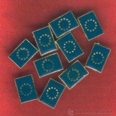Pins de colección: LOTE DE 49 BANDERITAS ESMALTADAS EUROPA TIPO PIN. Lote 167769690