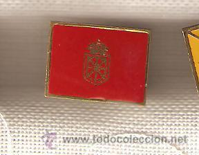 10 BANDERITAS TIPO PIN NAVARRA (Coleccionismo - Pins)